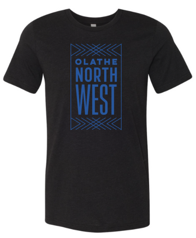 Olathe Northwest Black Soft Blend T-shirt