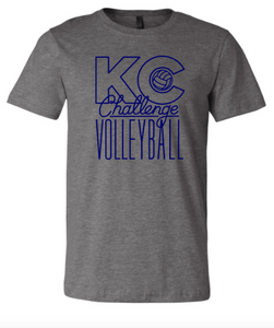 KC Challenge Heather Grey Soft T-shirt