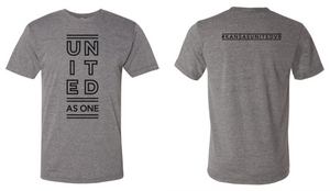 Kansas United Grey Triblend T-shirt