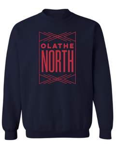 Olathe North Navy Crewneck