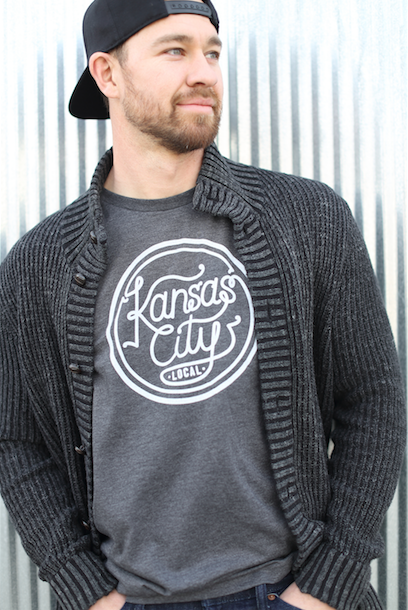 Kansas City Local Unisex Tee - Charcoal Grey