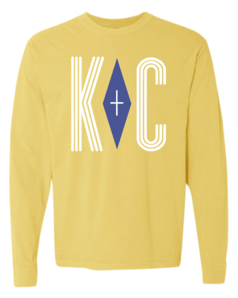 Positive Vibes Longsleeve Comfort Color - Butter