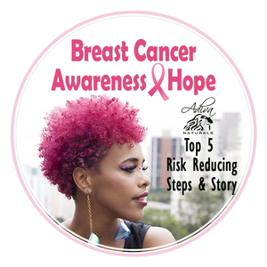 Adiva Naturals donation to Breast Cancer Awareness | TOP 5 Risk Reducing Steps