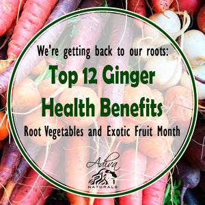 We're getting back to our roots: Root Vegetables and Exotic Fruit Month