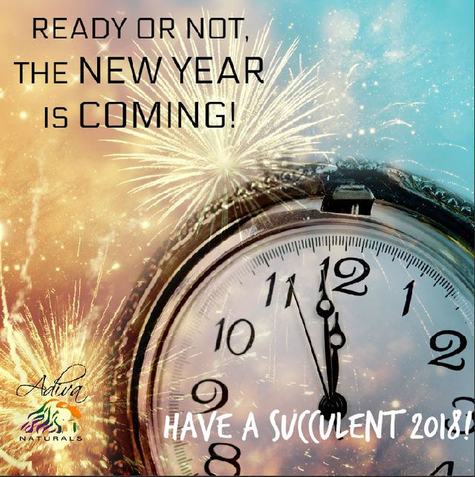 READY OR NOT, THE NEW YEAR IS COMING!