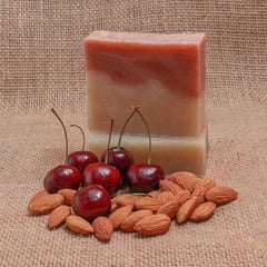 Adiva Naturals Juicy Cherry Almond Soap Bar