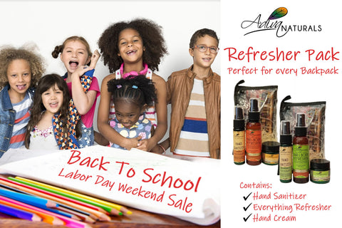 Back To School Refresher Pack for Backpack Hand Sanitizer