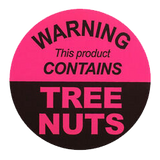 Warning contains Tree Nuts - Walnut and Almond Oil