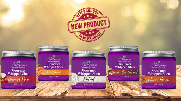 Whipped Shea Butter Five Flavors Body Butter Natural Lotion