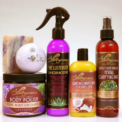 Ultimate 6-pk Lavender Gift Set w/ACV (Free Shipping)