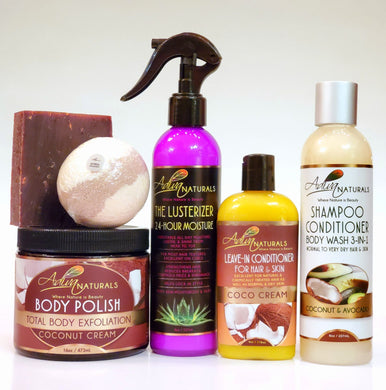 Ultimate 6-pk Coconut Gift Set w/Shampoo (Free Shipping)