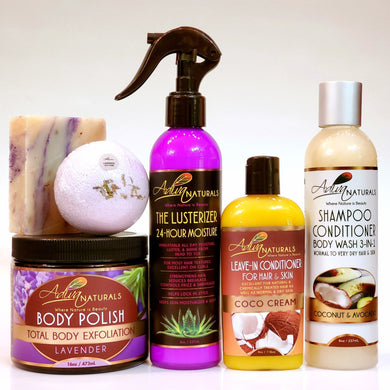 Ultimate 6-pk Lavender Gift Set w/Shampoo (Free Shipping)