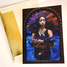 'NEBULA' S. Ross Browne Greeting Card: 5x7 Frame Ready