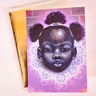 'PRINCESS IV' S. Ross Browne Greeting Card: 5x7 Frame Ready