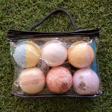 Surprise Me Assorted Bath Bomb/Foot Soak 6-pack