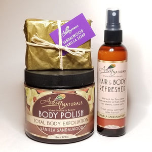 Vanilla Sandalwood Lover Set