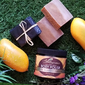 Luxurious Bath Scrub & Soap Set