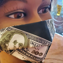 "Dollars ""Money Fabric"" Face Mask (Reusable, Reversible & Washable)"