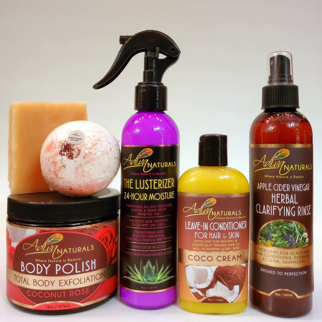 Ultimate 6-pk Coconut Rose Gift Set w/ACV (Free Shipping)