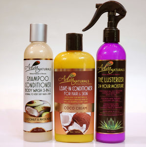 Hydrate and Luxuriate Hair & Skin Care Deluxe Set (5 Flavors)