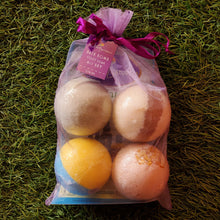 Surprise Me Assorted Bath Bomb/Foot Soak 4-pack