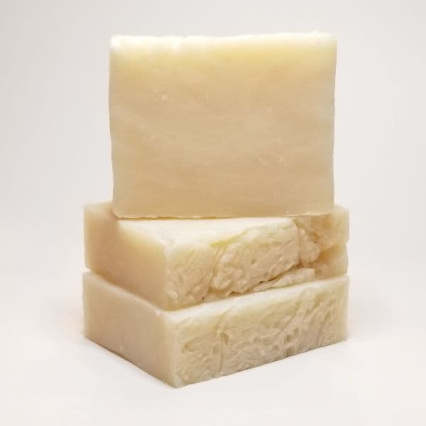 Gentle Unscented Shea Butter Soap 3-pack