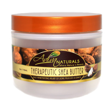 Therapeutic Shea Butter - Fast Penetrating Relief of Sore Muscles & Joints