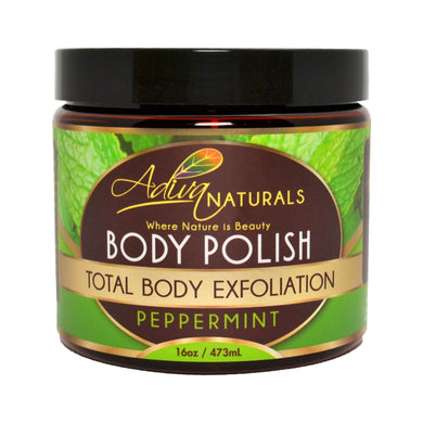 Ginger and Sugar Body Polish Scrub - Peppermint