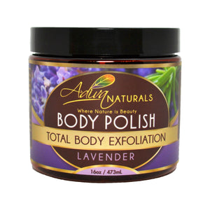 Ginger and Sugar Body Polish Scrub - Lavender