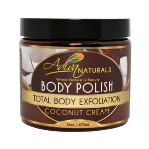 Ginger and Sugar Body Polish Scrub - Coconut