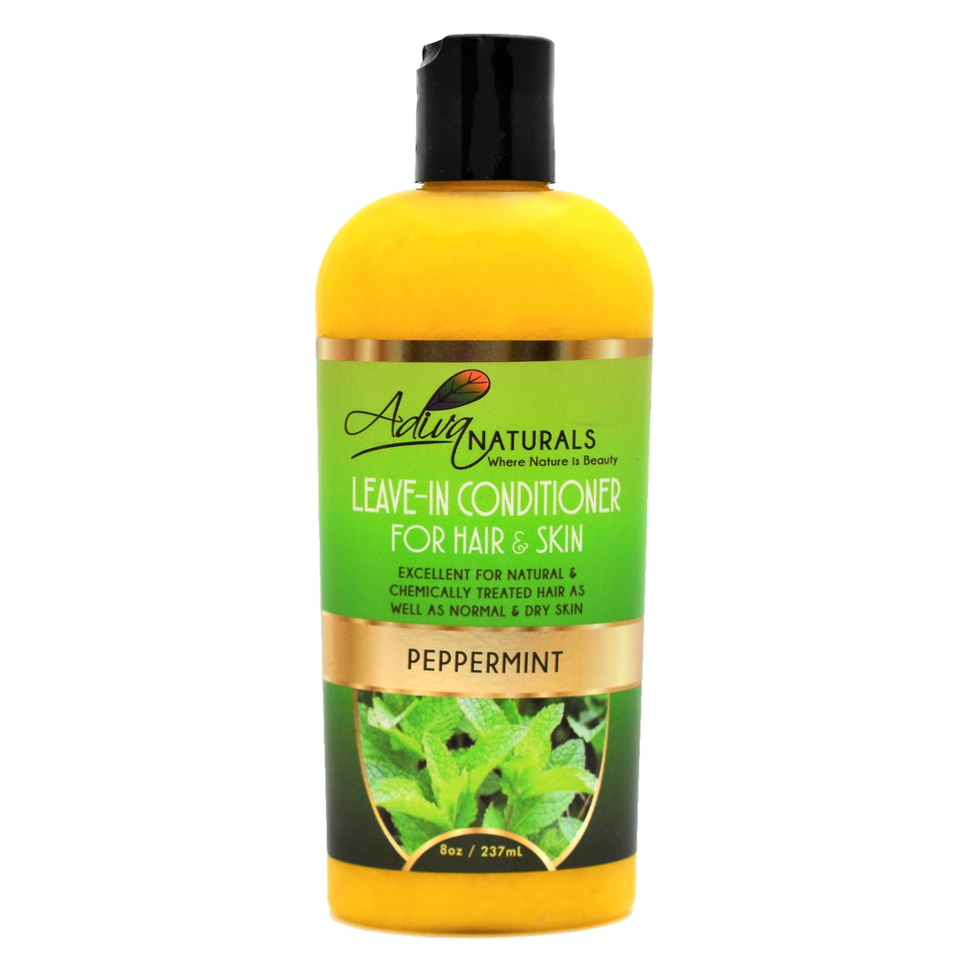 Leave-in Conditioner for Hair & Skin - Peppermint 8oz
