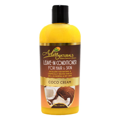 Leave-in Conditioner for Hair & Skin - Coco Cream 8oz