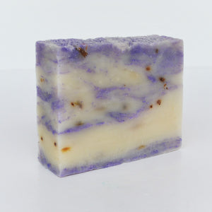 Adiva Naturals Blooming Lavender Fusion Soap Bar - Natural Organic Vegan