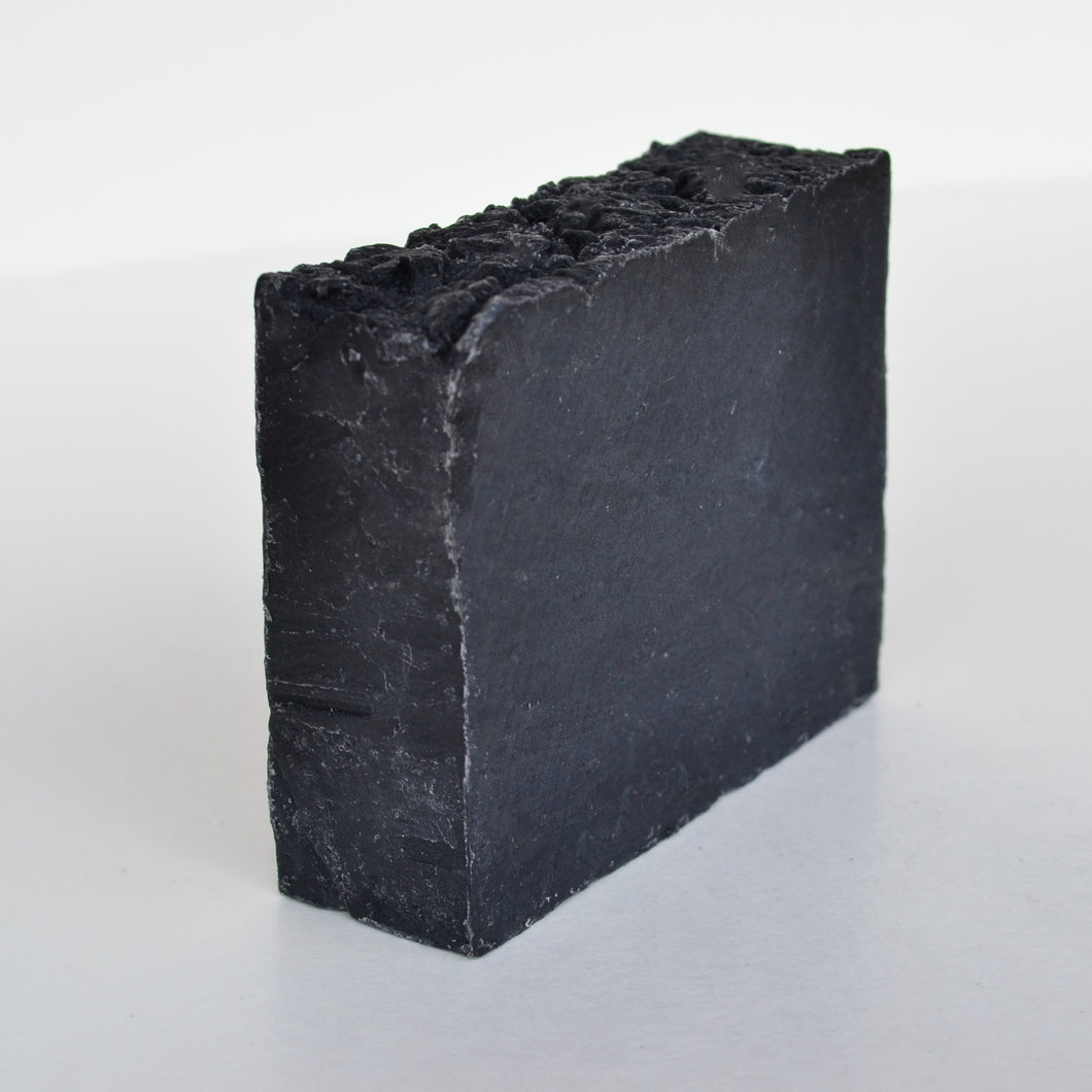 Adiva Naturals Deep Cleansing Activated Charcoal & Lemongrass Soap Bar