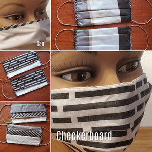 Face Mask (Reusable, Reversible & Washable) Various Styles