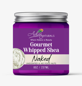 Gourmet Whipped Shea - Naked 8oz | Body Butter