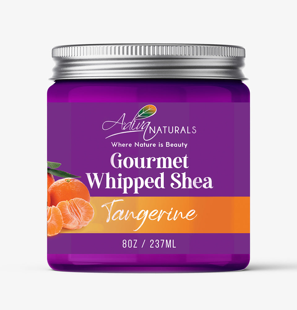 Gourmet Whipped Shea - Tangerine 8oz | Body Butter