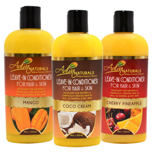 Leave-in Hair & Skin Conditioner 4oz Mix (3 pack)
