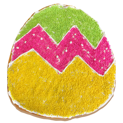 McDaffa's Seasonal Easter Egg Donut Cake