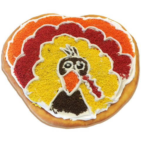 McDaffa's Seasonal Donut Cake Thanksgiving Turkey