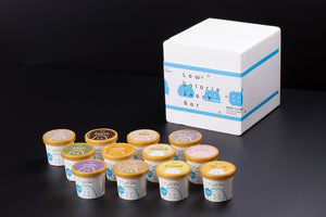 無糖低卡冰淇淋嚐鮮禮盒(12入裝) No-Sugar-Added Low Calorie Gelatos (12 cups/package)