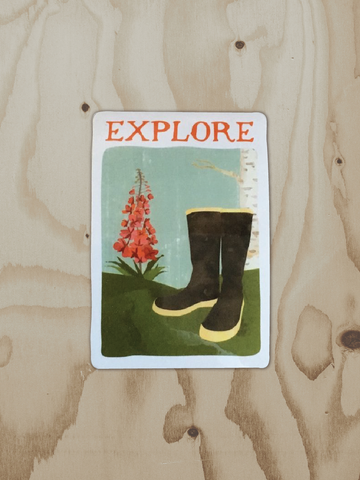 Explore - Vinyl Sticker