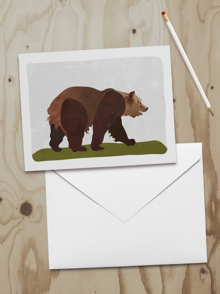 Alaska Wildlife Series Note Cards (A2)