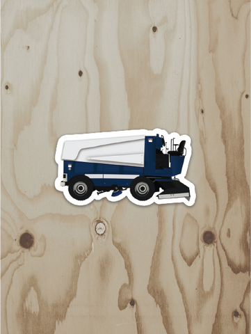Ice Resurfacer Vinyl Sticker