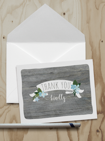 Thank You Note Cards (A2)
