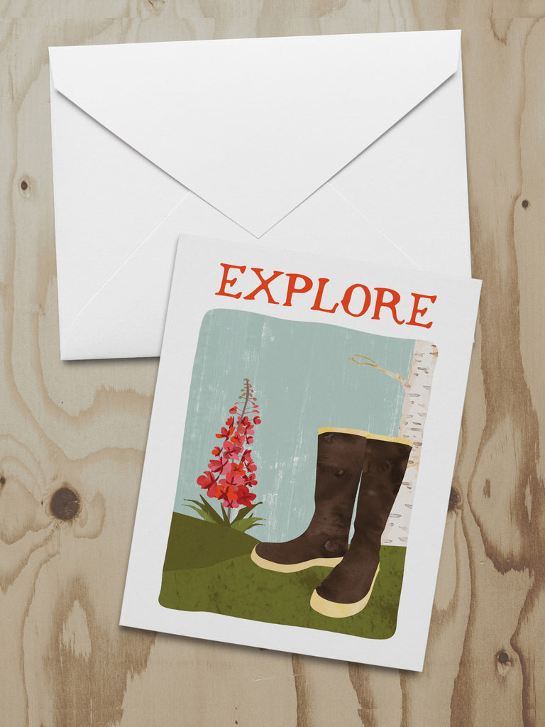 Alaska Adventure Series Note Cards (A2)
