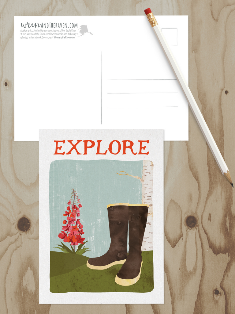 Alaska Adventure Series Postcards