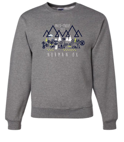Troop 233 Crewneck Sweatshirt