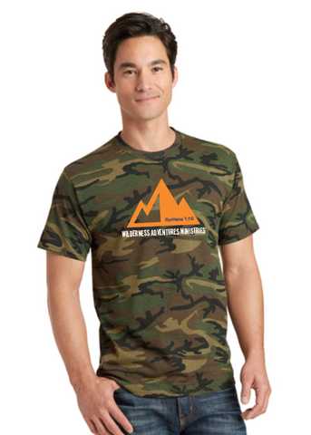 Wilderness Adventures Short Sleeve Camo T-Shirt