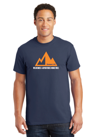 Wilderness Adventures Short Sleeve Navy T-Shirt